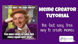 Easy Meme Creator - memecreator org tutorial gifted guru