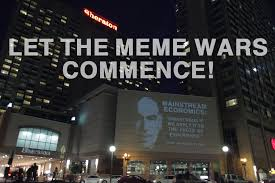 Meme War Pictures - declaring a meme war at the american economic association conference