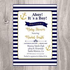 nautical baby shower invitations nautical baby shower invitation navy and gold printable baby shower