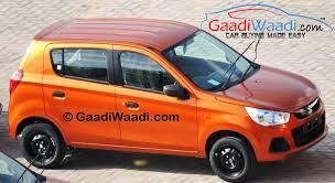 maruti renault maruti suzuki alto k10 amt facelift with spied pictures inside