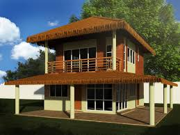 Native House Design Two Story Native Hybrid Negros Construction