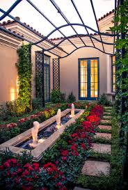 Italian Backyards by Italian Courtyard Designs Italian Courtyard Gardenpuzzle