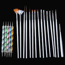 1 set 5 pcs diy professional nail tools nail art design painting
