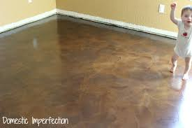 Laminate Flooring On Concrete Paper Bag Floors A Tutorial Domestic Imperfection
