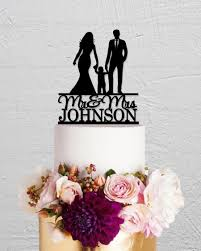 wedding cake topper bride and groom cake topper family cake topper