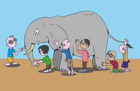 3 Blind Men And The Elephant Elephant Free Vector Graphics On Pixabay