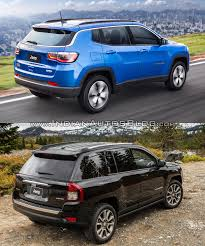 compass jeep 2011 2017 jeep compass vs 2011 jeep compass rear three quarter indian