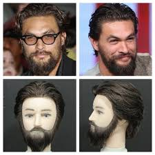 jason momoa haircut u0026 beard tutorial celebs pinterest jason