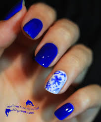 blue nail design ideas gallery nail art designs