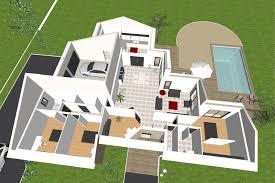 modele maison plain pied 3 chambres plan maison 3 chambres plain pied 3d