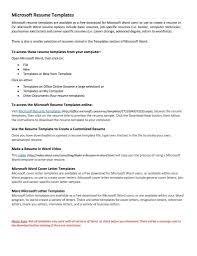 Free Download Resume Templates Word Free Downloadable Resume Templates Microsoft Word Resume Cover