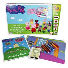 peppa pig mini clay buddies craft activities kids works