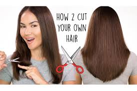 how to cut your own hair l diy haircut maryam maquillage youtube