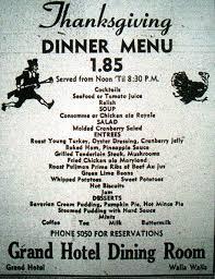 thanksgiving turkey dinner menu thanksgiving dinner menu