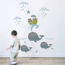 Decorating Nursery Walls Owl And Pussycat Fabric Wall Sticker Wall Sticker Nursery And