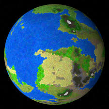 Random World Map Generator by Experilous Procedural Planet Generation