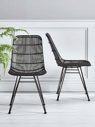 Dining Table With Rattan Chairs Best 25 Rattan Dining Chairs Ideas On Pinterest Modern Vintage