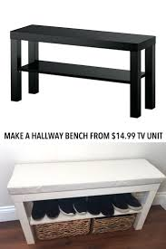 tv stand 52 enchanting turn a a7 lack tv unit into a hallway