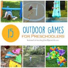 Backyard Games For Toddlers by 15 Fun Outdoor Games For Preschoolers