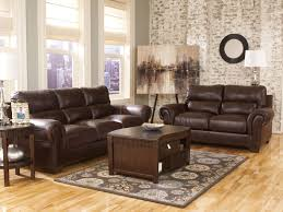 Brown Leather Loveseat Living Room Best Leather Living Room Set Ideas Contemporary