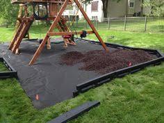 Backyard Swing Set Ideas How To Landscape A Swing Set Helpfulhowtos