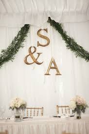 diy wedding backdrop names bridal table backdrop wedding flair