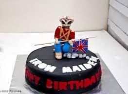 the trooper by iron maiden theme cake punizz kitchen pinterest
