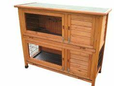 Ferret Hutches And Runs Wooden Double Level Rabbit Guinea Pig Ferret Hutch With Run Below