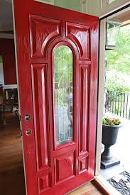 How To Paint An Exterior Door Shut The Front Door Front Doors Doors And Curb Appeal