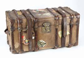 travel trunks images Screen used hero traveling trunk and personal effects from larger jpg