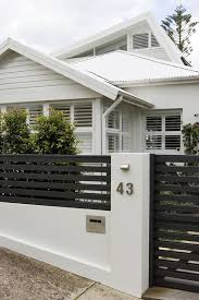 Gate For Backyard Fence Best 25 Front Fence Ideas On Pinterest Front Gates Front Yard