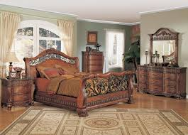 Marble Top Dresser Bedroom Set Nicholas Luxury Bedroom Set Cherry Finish Marble Tops Free