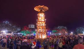 san antonio tree lighting 2017 cities spread the holiday joy all around texas san antonio express