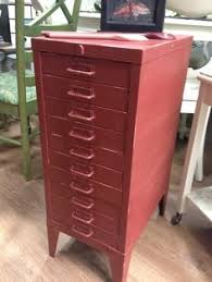 Chalk Paint On Metal Filing Cabinet Chalk Paint Metal File Cabinet Old Architectural Flat File