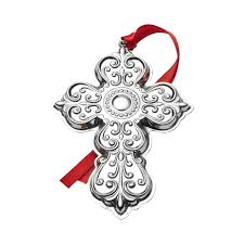 anniversary ornament buy towle 2017 sterling cross ornament 25th anniversary edition