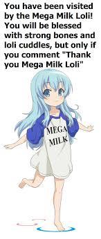Mega Milk Meme - mega milk loli animemes