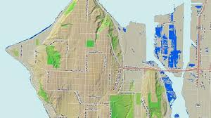 seattle flood map seattle predicts climate change will cause flooding by 2050 komo
