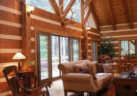 log home interior lifeline interior dark natural log home stain and perma