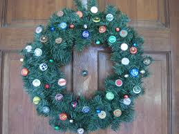 by request beer cap christmas wreath instructions u2013 crystal jackson