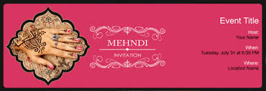 henna invitation free mehndi party invitation with india s 1 online tool