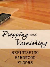 prepping and varnishing refinishing hardwood floors part 4