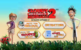 2013 cloudy with a chance of meatballs 2 movie wallpapers image cloudy 2 foodimals launch page jpg cloudy with a chance