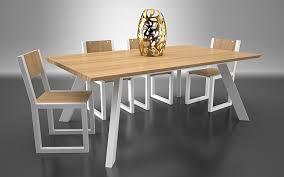 cuisine en bois frene yuzu dining table black citrus creative design studio of furniture