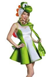 halloween costumes ca women u0027s yoshi skirt costume