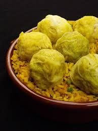 comment cuisiner du chou blanc boulettes de chou farci à la viande hachée et riz épicé au