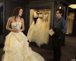 blair waldorf x vera wang wedding dress fitting gossip