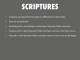 lds org primary manual heavenly father and jesus gave us the scriptures by