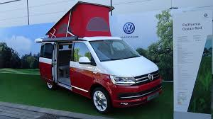volkswagen concept van interior 2017 volkswagen california ocean red exterior and interior iaa