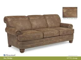 All Leather Sofa Living Room Flexsteel Leather Sofa Flexsteel Nuvo Leather