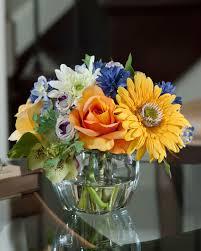 decorative floral arrangements home decoration decorate your tabletop with gerbera rose cornflower